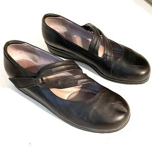 Beautifeel Mary Jane Soft Black Leather Shoes 41